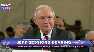 FNN: Sen. Lindsay Graham Talks College Football, Alabama Legacy During Jeff Sessions Hearing Free HD Video
