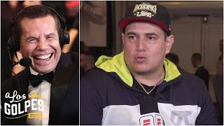 Así le ganó Canelo a Kovalev y su entrenador Eddie Reynoso se lo cuenta a Julio César Chávez