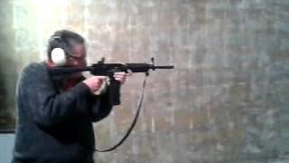TESTE DO AR 15 M4 CALIBRE .380 NO ESTANDE DA MILDOT