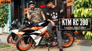 2017 KTM RC 390   Taking Delivery   Mumbai, India