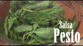 Cocinando... Salsa Pesto