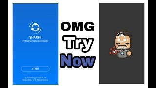 Changing the #SHAREit Background pic awesome trick By.. Just BD Tiger