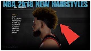 NBA 2k18   ALL NEW HAIRSTYLES!!! ODELL BECKHAM Jr. HAIRCUT!!! (MUST WATCH)