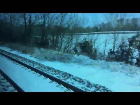 Irish Rail Cork to Dublin train departing Thurles - Unravel Travel TV