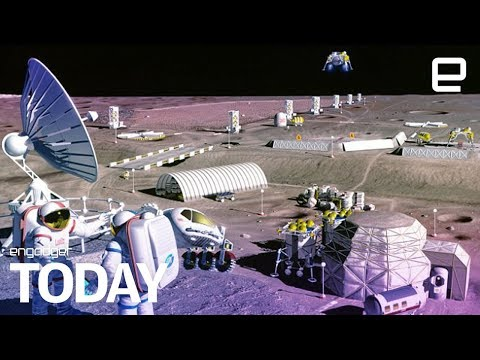 Russia and the US will build a moon base | Engadget Today