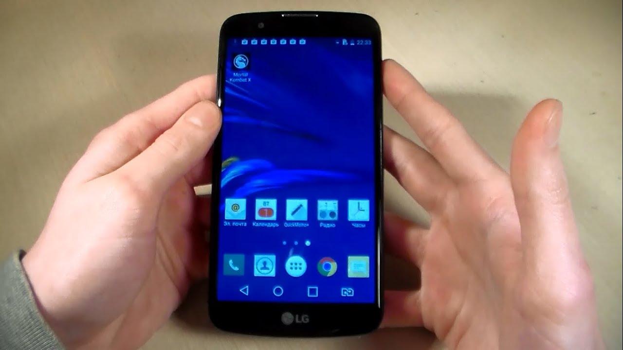 Обзор смартфона LG K10 LTE K430DS - YouTube