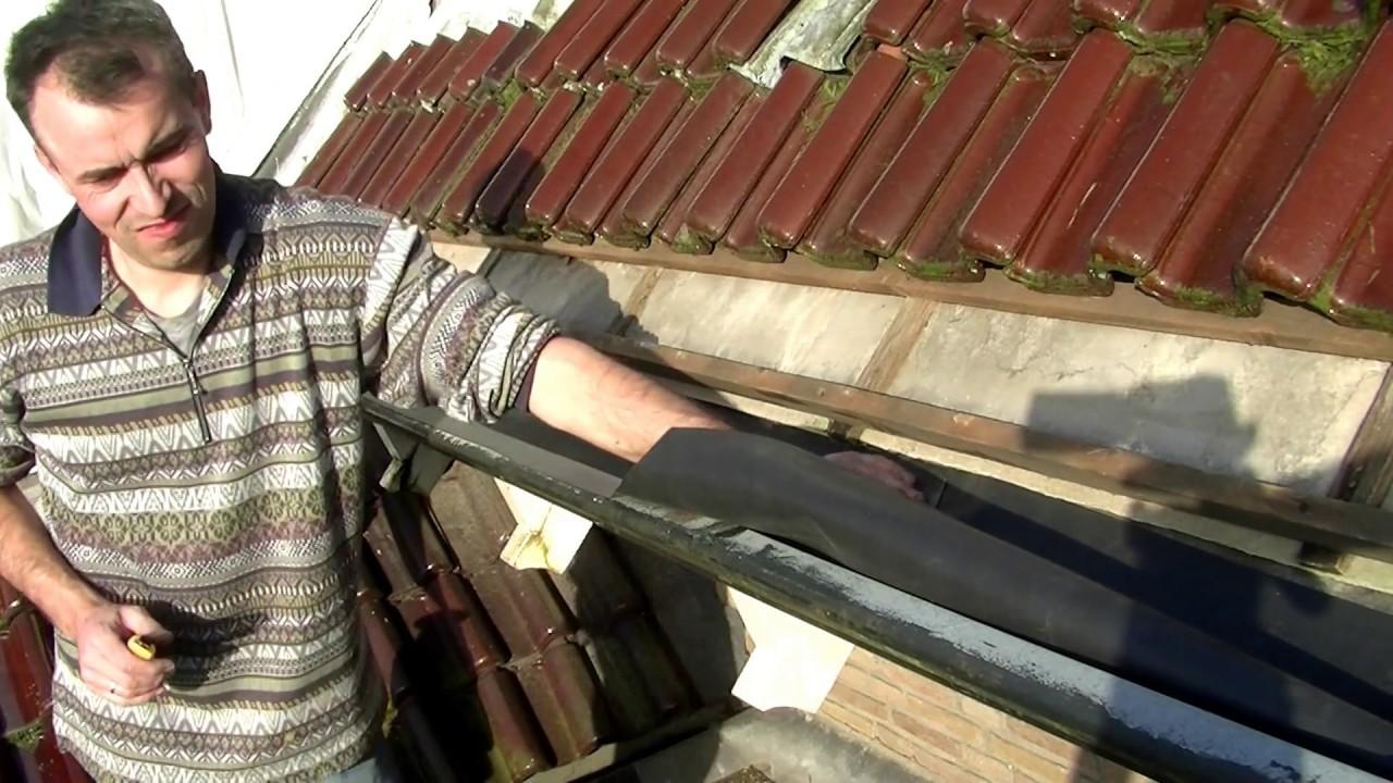 Top hoe zinken dakgoot repareren / renoveren met EPDM RUBBER. - YouTube LH47