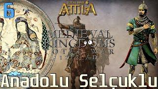 YENİDEN ANADOLU SELÇUKLU #06 [LEGENDARY] - Medieval Kingdoms 1212 AD Total War: Attila [TÜRKÇE]