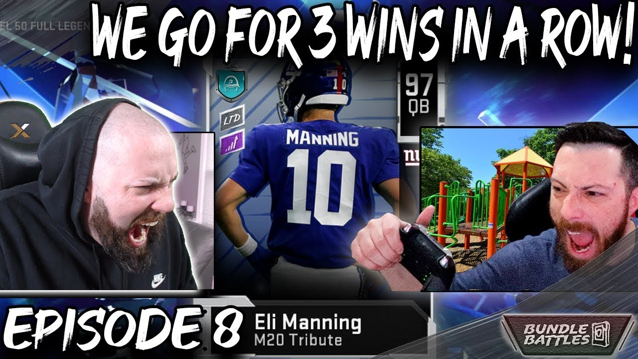 Going For 3 Wins In A Row Bundle Battles Episode 8 Vs Scomo Madden 20 Ultimate Team Youtube