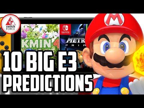 10 BIG Nintendo E3 2018 Predictions!