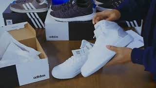 pruebita con las Adidas Hoops 2.0  Unboxing - Review