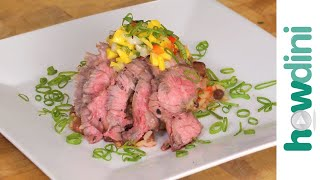 How To Make Grilled Skirt Steak With Mango Salsa