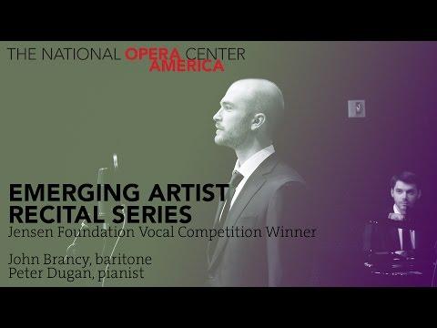 Recital: John Brancy, baritone, and Peter Dugan, pianist