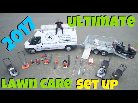 ULTIMATE Solo Lawn Care SET UP 2017