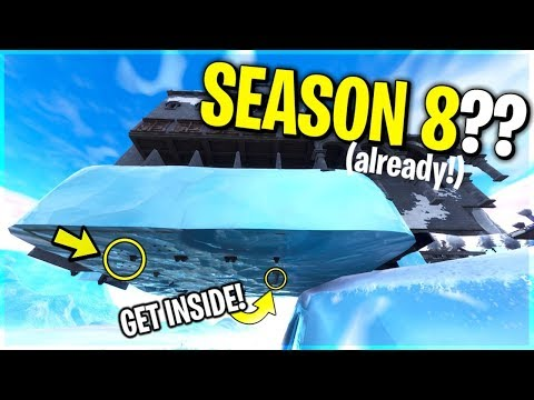 SEASON 8 CLUES ALREADY FORTNITE?! Here is how you do it...