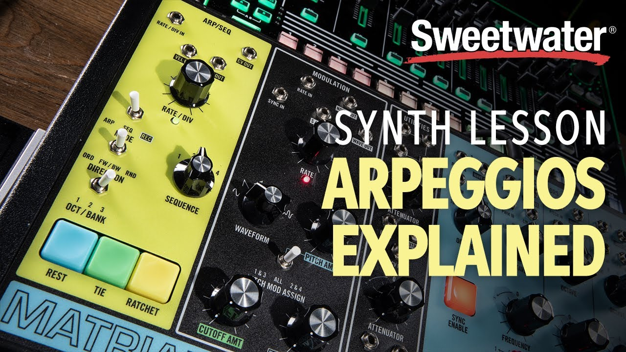 Synth Arpeggiation Tutorial with Daniel Fisher