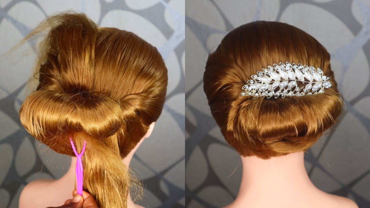 Different Wedding Party Hairstyles Ideas 2020 : Easy Beautiful Hairstyles for Wedding Guests ...