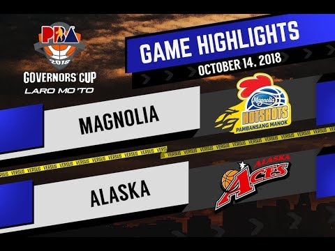 PBA Governors' Cup 2018 Highlights: Magnolia vs Alaska Oct. 14, 2018