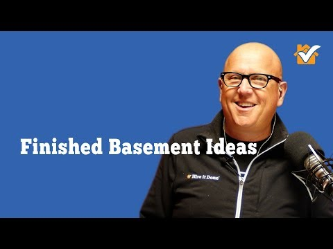 Hire it Done Radio: Finished Basement Ideas