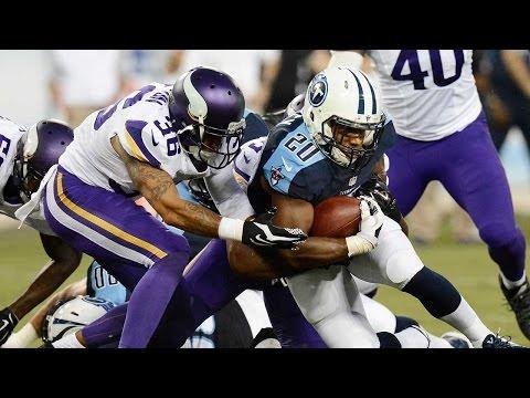 Vikings vs. Titans highlights - 2015 NFL Preseason Week 4