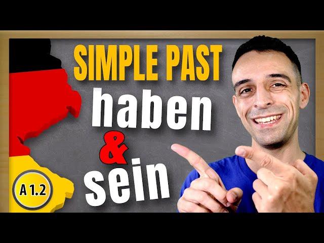 Haben und Sein im Präteritum | to have & to be in German simple past
