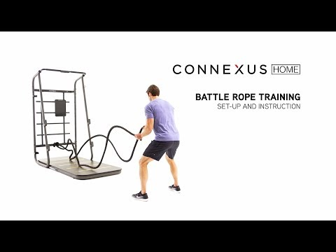 Melt Fat with This Tough Battle Rope Workout