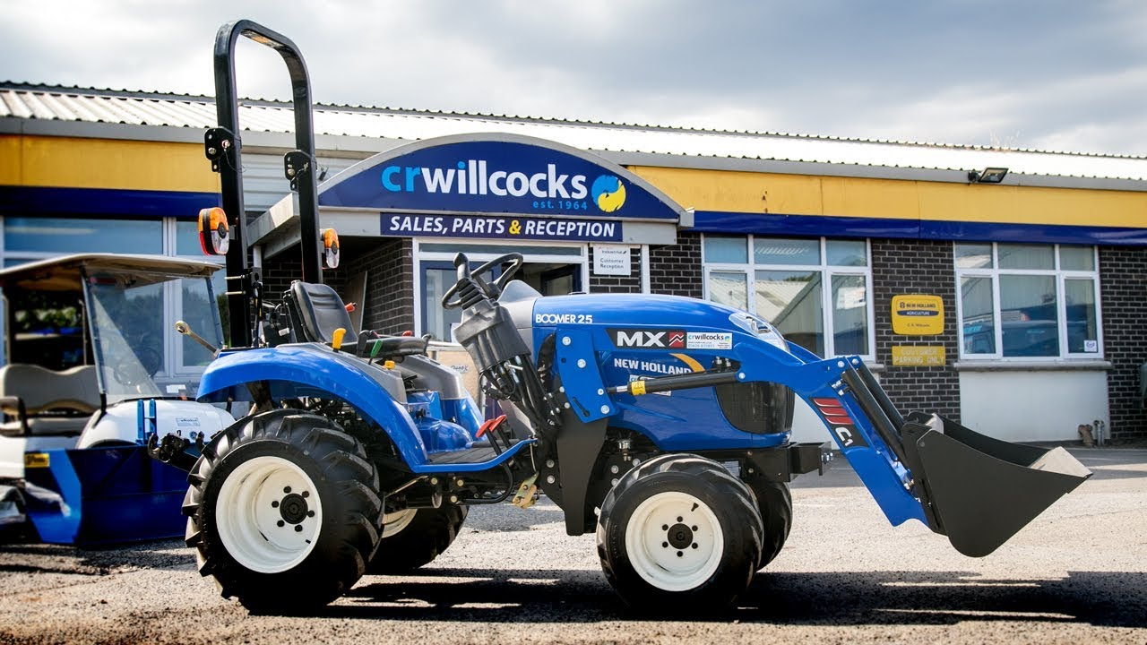 New holland offers a long list of attachments, implements and. New Holland Boomer 25 Compact Tractor With Mx Loader Youtube
