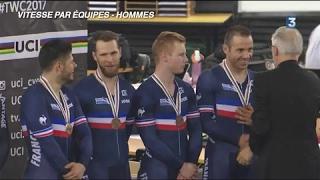 Les meilleurs moments des championnats du monde de cyclisme sur piste