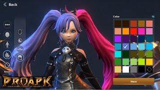 Rappelz The Rift Android Gameplay - Dark Magician (Open World MMORPG) (2nd CBT)