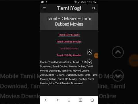 Tamilyogi new movie free download 2020