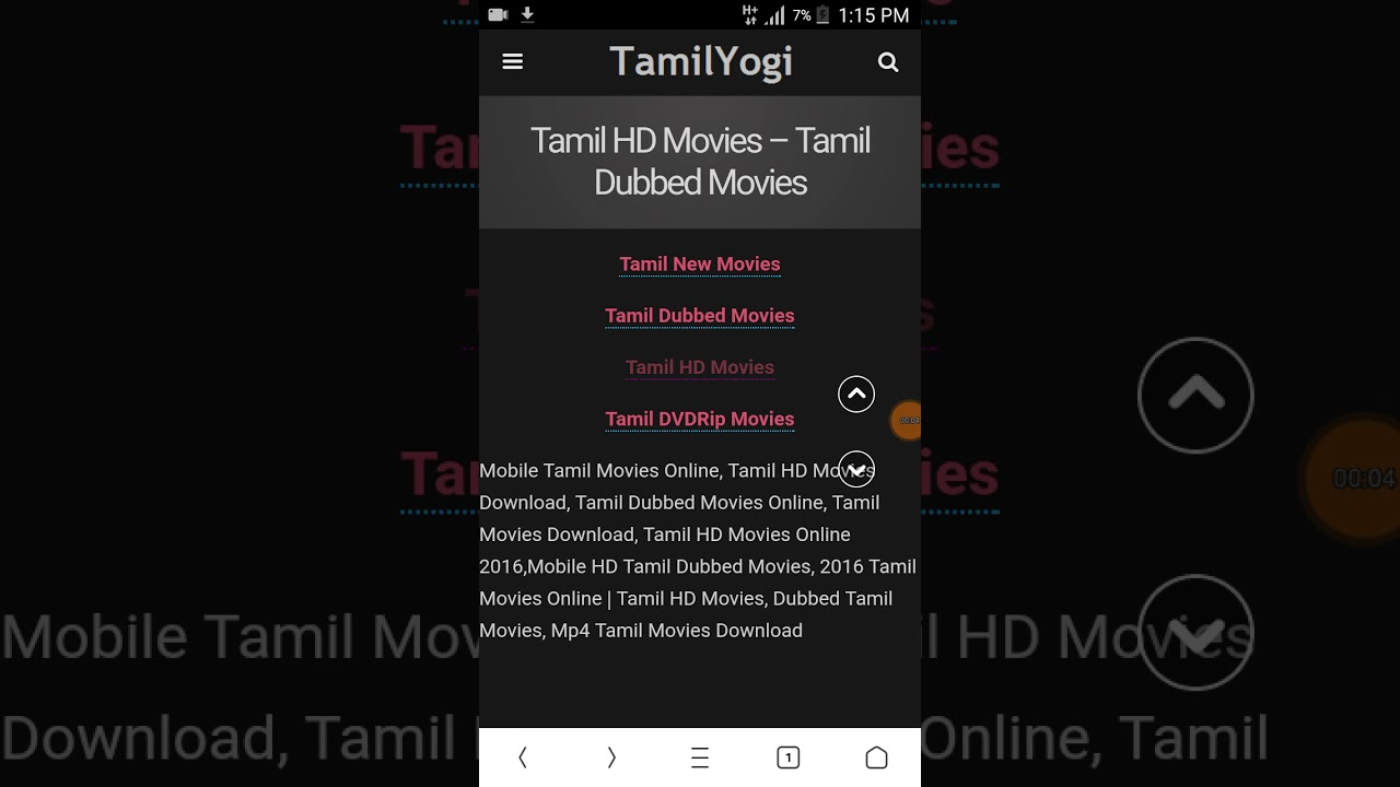 how to download videos from tamilyogi