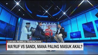 PSI dan PKS Debat 'Jualan' Program Ma'ruf vs Sandi