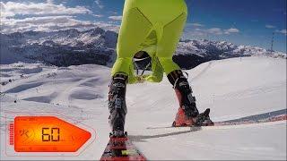 Skiing at 170kph in thermal underwear - Andorra 2015