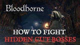 Bloodborne: How to Fight Hidden Cut Bosses via Chalice Dungeon Glyphs