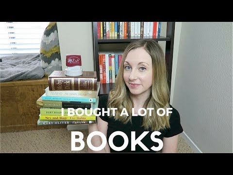 I bought a lot of books (& bookish things)...