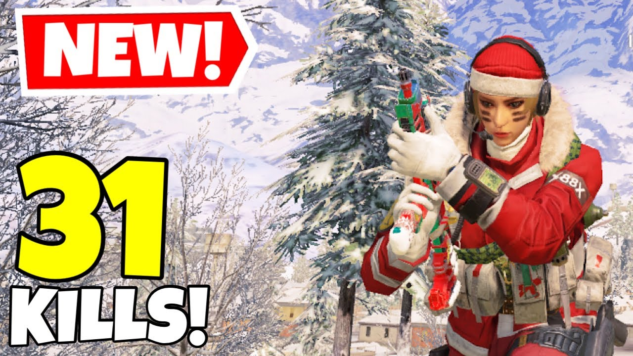 *NEW* SCYLLA SLEIGHER + QXR SECRET SANTA GAMEPLAY IN CALL OF DUTY MOBILE BATTLE ROYALE!