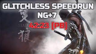 【SEKIRO】NG+7 GLITCHLESS SPEEDRUN IN 42:23 [PB]