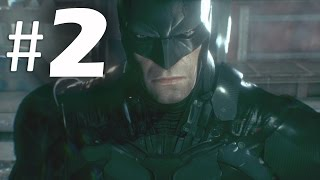 Batman Arkham Knight Part 2 - Batsuit V8 - Gameplay Walkthrough PS4