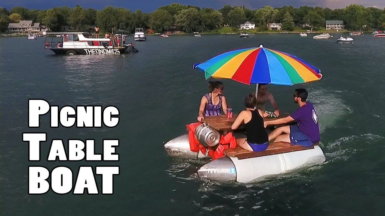Picnic Table Boat | How To Build It