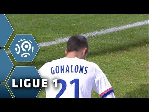 Goal Maxime GONALONS (8' csc) / Olympique Lyonnais - Montpellier Hérault SC (2-4)/ 2015-16