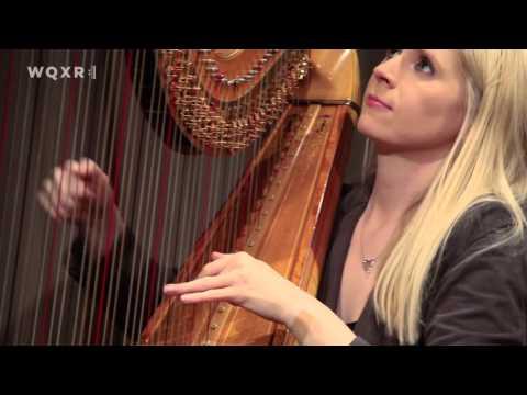 Harpist Claire Jones Plays Fibich's 'Poéme' in the WQXR Studio