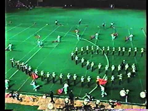 Brentwood Green Machine Marching Band - 1989