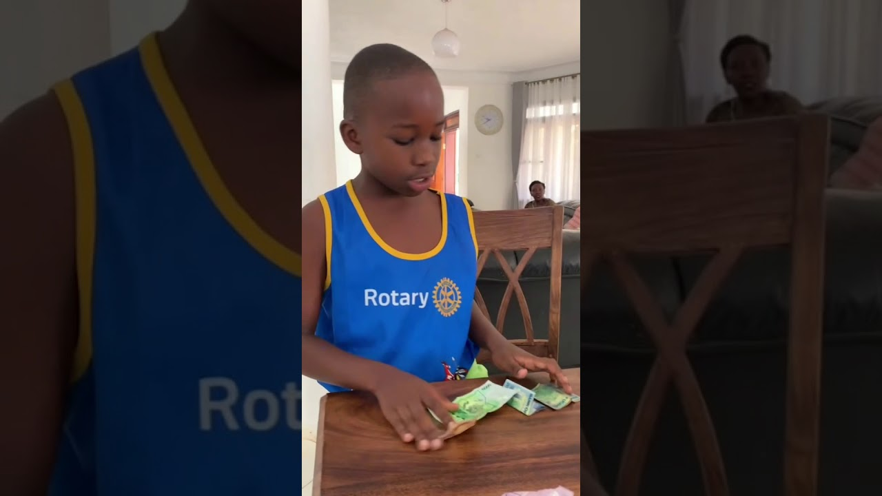 Bobi Wine joins his children in the African traditional tooth Fairy dance