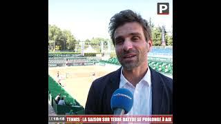 Le 18:18 - Tennis : après Roland-Garros, la saison sur terre battue se prolonge à Aix