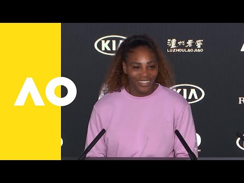 Serena Williams press conference (QF) | Australian Open 2019 ...