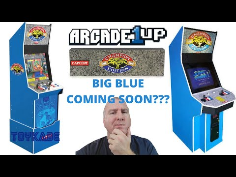 Arcade1up: Street Fighter II Champion Edition Big Blue leaked before E3??? from PsykoGamer