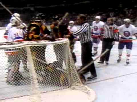 Game 1 1982 Stanley Cup Final Vancouver Canucks at New York Islanders