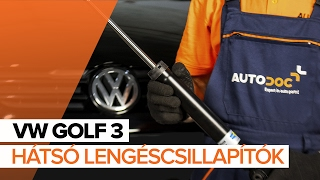 Hogyan cseréljünk Csapágyazás, kerékcsapágy ház VW GOLF III (1H1) - video útmutató