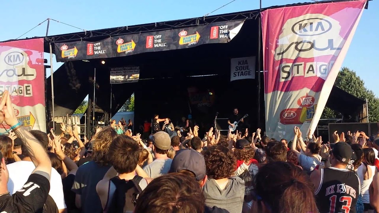 6998928576 Yellowcard - Lights and Sounds   Montreal Vans Warped Tour 2014 ...