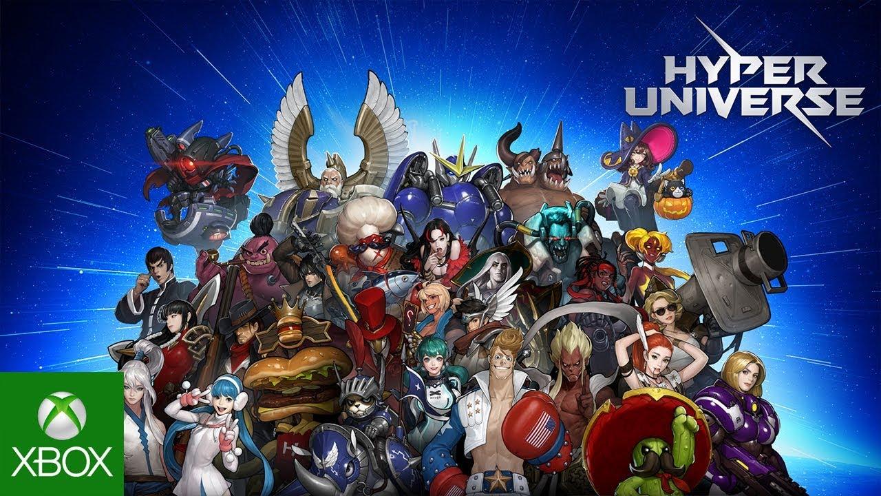Resultado de imagen de portada Hyper Universe xbox one